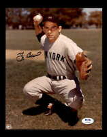 Yogi Berra PSA DNA Coa Hand Signed 8x10 Photo Autograph