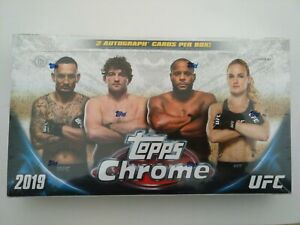 2019 Topps UFC Chrome base set - Pick your cards