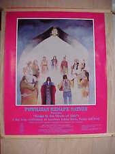 Powhatan Renape Fundraiser Rankokus Reservation Westampton NJ 1987 Poster