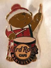 Hard Rock Cafe Manchester Christmas Bear '08 Pin - LE 150 Pins