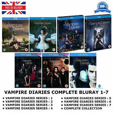 VAMPIRE DIARIES - SERIES 1-7 COMPLETE COLLECTION SEASON 1 2 3 4 5 6 7 NEW BLURAY