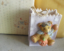 1995 Cherished Teddies Halloween Treat Bag Trick or Treats NIB