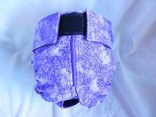 Female Dog Puppy Pet Diaper Washable Pants Sanitary Underwear PURPLE Leaf Sm/Md