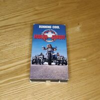 Running Cool (1993) RARE VHS OOP The Myth Of The Modern Cowboy Biker VG