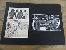 Nazaret signed autógrafos en 25x35 cm Passepartout inperson Look
