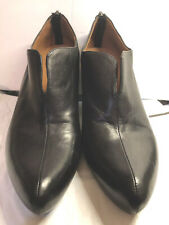 Earthies Womens Black Learher Comfort Shoes Heels Size 10