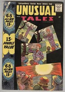 Unusual Tales #11 March 1958 FN 68 page giant, 20 pages Ditko art