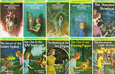 NANCY DREW by Carolyn Keene MATCHING HARDCOVER Collection Set Books 31-40!