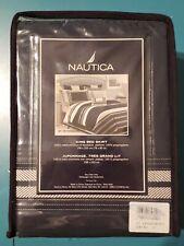 Nautica King Bed Skirt St Petersburg NEW