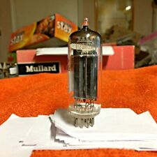 Vintage Rca12BH7A  Vacuum Tube Black Plates Halo Getter