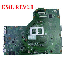 K54L motherboard For ASUS  Laptop X54L X54H REV 2.0 Mainboard 60-N7BMB2000