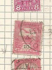 HUNGARY; 1900 -1901 Turul over Crown of Saint Stephen  used.* BL