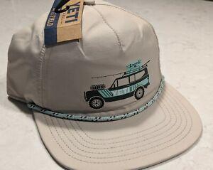YETI Adventure Vehicle Rope Hat Tan - VERY RARE!!