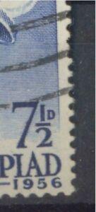 Australia. 1956. Olympics. 7 1/2d. FU. BW 333 G flaw.