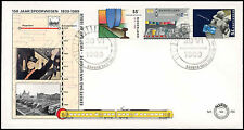 Netherlands 1989 Railways FDC First Day Cover #C27950