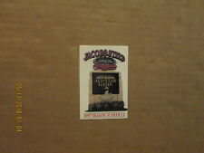 MLB Cleveland Indians Vintage 1997 Team Logo Baseball Pocket Schedule