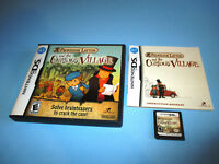 Professor Layton and the Curious Village Nintendo DS w/Case & Manual