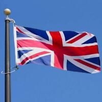 Large 5x3ft 75D Union Jack UK Great Britain British United Kingdom Team Flag-WI