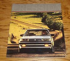 Original 1986 Toyota Cressida Deluxe Sales Brochure 86