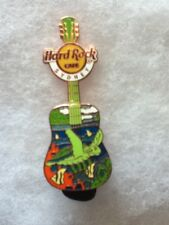 Hard Rock Cafe Pin Sydney Turtle Guitar 2015