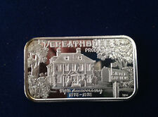 1978 Greathouse Productions 5th Anniversary Ser#61/85 TRG-6 Silver Bar P1856