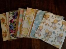 BIG LOT 15+ Designs Old Vintage Christmas Wrapping Paper Holly Hobby