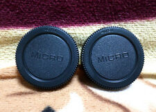 2x  Rear Lens cap for Olympus Lumix Micro 4/3 M4/3 M 43 lens