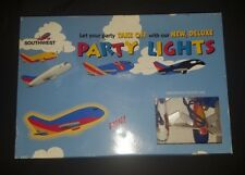 Southwest Party Lights String Airplanes Planes Flying Pilot Room Decor Jet 10