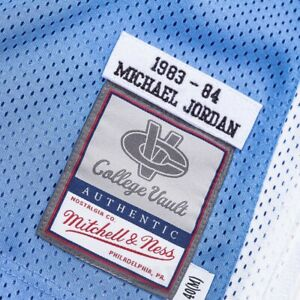 Mitchell Ness NORTH CAROLINA 1983 Michael Jordan College Vault Authentic Jersey