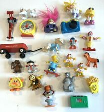 Vintage McDonalds Happy Meal Toys + Other Toys / Bart Simpson / ET/ Garfield