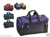 """17"""" Duffle Bag Duffel Travel Size Sports Gym Bags Workout Blank Carry-on Luggage"""