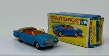 Matchbox #69 Rolls Royce Silver Shadow w Orig Box and Superfast wheels by Lesney