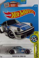HOT WHEELS Porsche 934 Turbo RSR-Silver & Blue Faucons tire