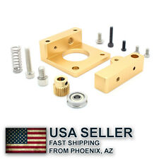MK8 extruder aluminum block DIY kit Makerbot single nozzle SHORT - AZ, USA
