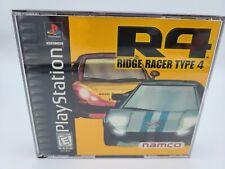 R4 Ridge Racer Type 4 Sony PlayStation 1 1999 PS1 (Broken Case)-A4