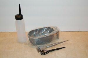 NEW Matrix 8 oz bottle Gray color or Highlighter Bowl / large Brush / whip