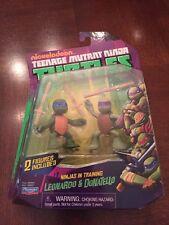 Teenage Mutant Ninja Turtles Leonardo & Donatello Ninjas In Training ,MISP (B72)