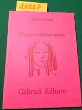 Olga DUCA NATOLI  -  VIAGGIO NELLA MEMORIA  -  GABRIELI EDITORE  -  1994