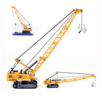 Diecast Hydraulic Cable Lifting Excavator 1:87 Scale Heavy Construction Model