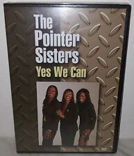 DVD POINTER SISTERS - YES WE CAN CAN - NUOVO NEW