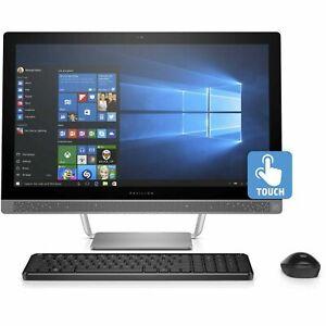 HP Pavilion All-in-One PC Intel Core i7100T 8GB 1TB Silver Desktop PC Computer