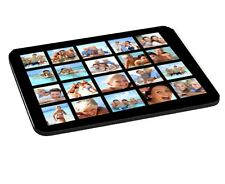 Personalised Collage 20 Photos Added 5mm Thick Rectangle Mouse Mat/Pad