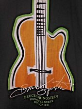 Hard Rock Cafe T Shirt XL Signature Series Bruce Springsteen Hungerathon 2007