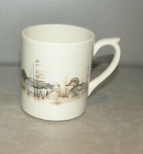 NEW Coffee Mug with a Duck ,  Sologne  pattern GIEN,  France