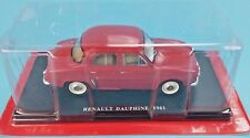 Renault Dauphine 1961   1:24  New & Box Diecast model véhicle miniature