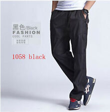7287 New Men's Loose Loungewear Pants Gym Casual Long Sports Fitness Trousers