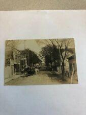 Old Canada Postcard Real Photo Camden East Ontario Very Rare