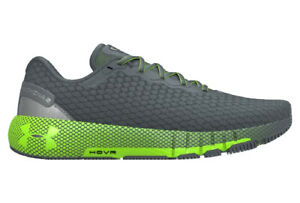 Under Armour Mens UA HOVR Machina 2 Running Shoes, Black/Green