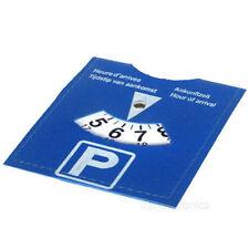 TIMER parcheggio auto disco orario di arrivo Orologio Display disabilitato BLU PORTA BADGE UK