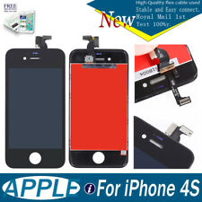 FOR iPhone 4S LCD Touch Display Digitiser Screen Assembly  Replacement Black UK